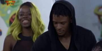 BBNaija: Nigerians react to brewing romance between Diane, Elozonam