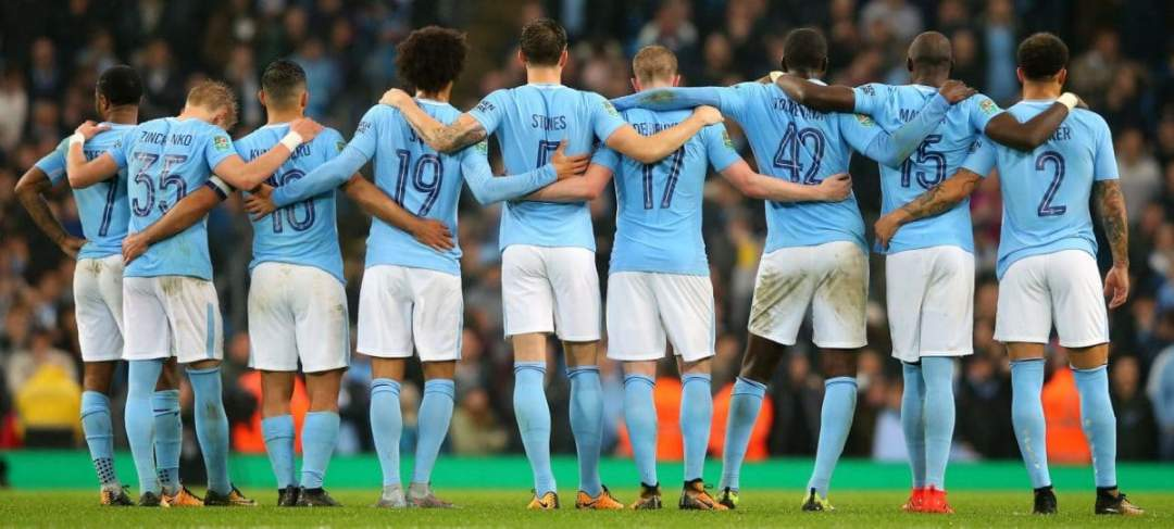 Manchester City Team Players Wolves 2017