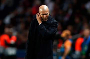 Champions League: Zidane admits he is bothered by talk of Mourinho replacing him