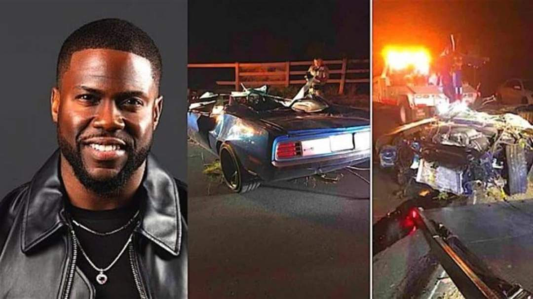 Kevin Hart suffers major back injuries in car crash (Photos)