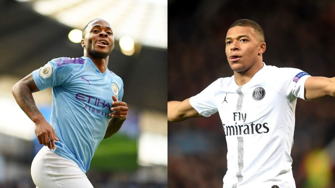 Raheem Sterling, Mbappe included in UEFA Champions League team (Full list)