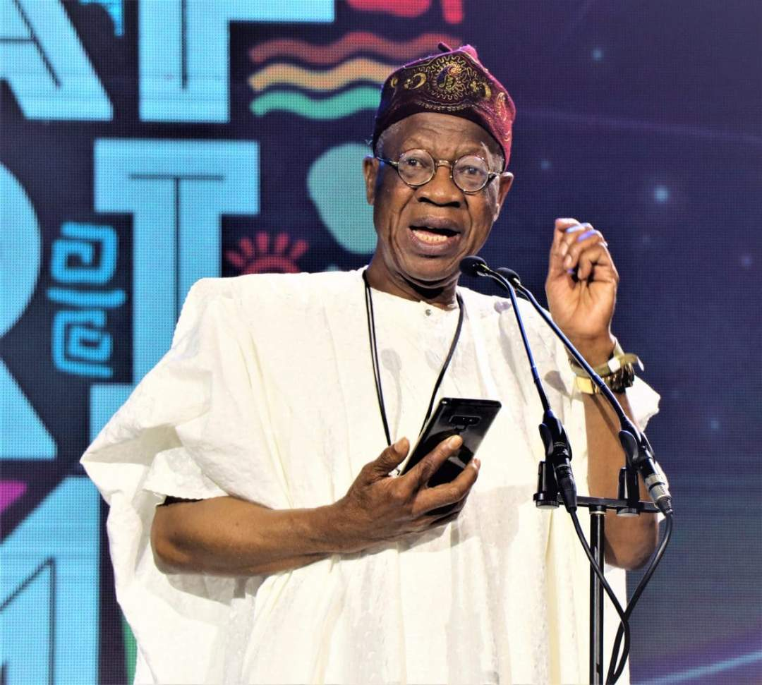AFRIMA 2019: Nigerian govt to inject N50bn into entertainment industry - Lai Mohammed