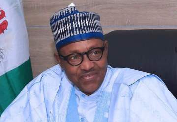Buhari reveals lessons learnt from Anthony Joshua's defeat of Ruiz Jr