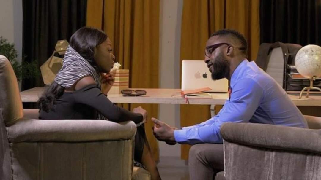 Nigerians react as BBNaija, Diane kisses Iyanya