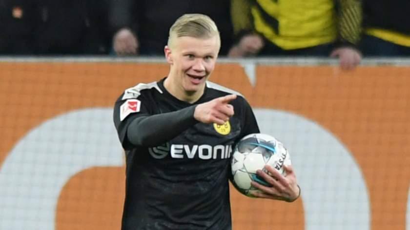 Borussia Dortmund Striker Erling Haaland 1