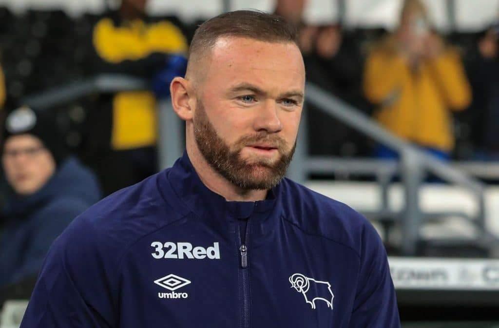 Derby County Captain Wayne Rooney 1