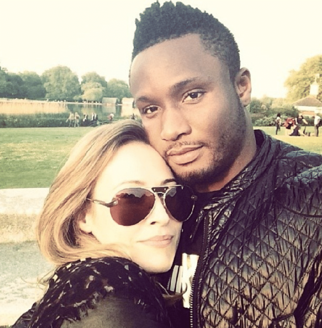 Coronavirus: Mikel Obi's girlfriend reacts to termination of midfielder's contract