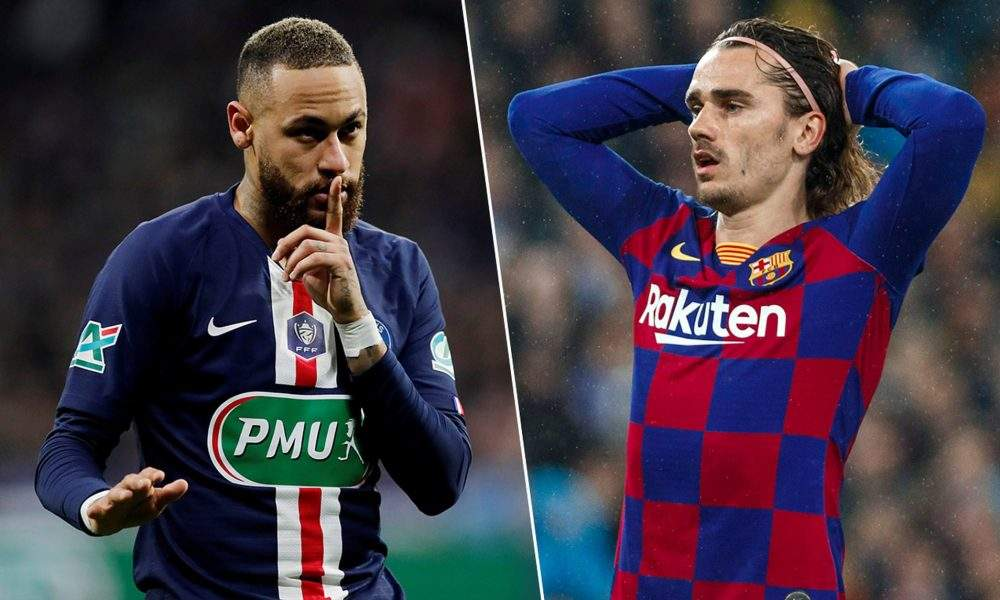 Transfer: Barcelona to do Griezmann-Neymar swap with PSG