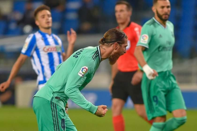 LaLiga: Real Madrid defeat Sociedad to go top ahead of Barcelona