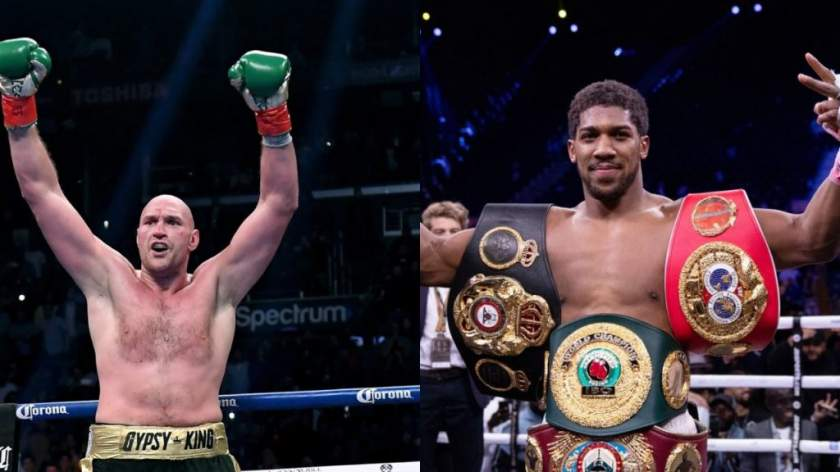 Anthony Joshua, Tyson Fury reach deal for two fights