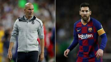 LaLiga: Zidane speaks on Messi leaving Barcelona