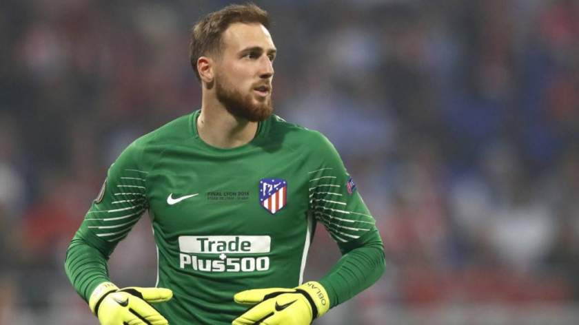Atletico Madrid Goalkeeper Oblak 1