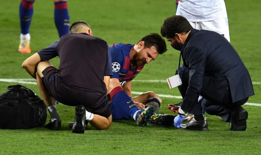 Champions League: Setien gives latest update on Messi's injury ahead of Bayern clash