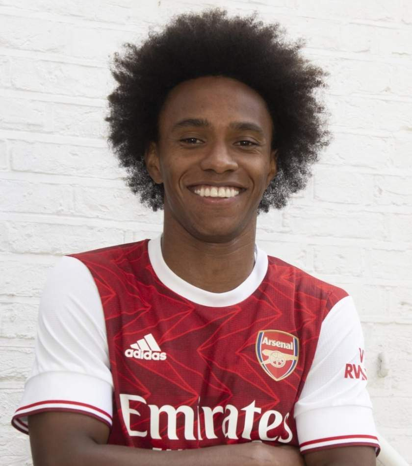 Willian reveals player that convinced him to join Arsenal from Chelsea