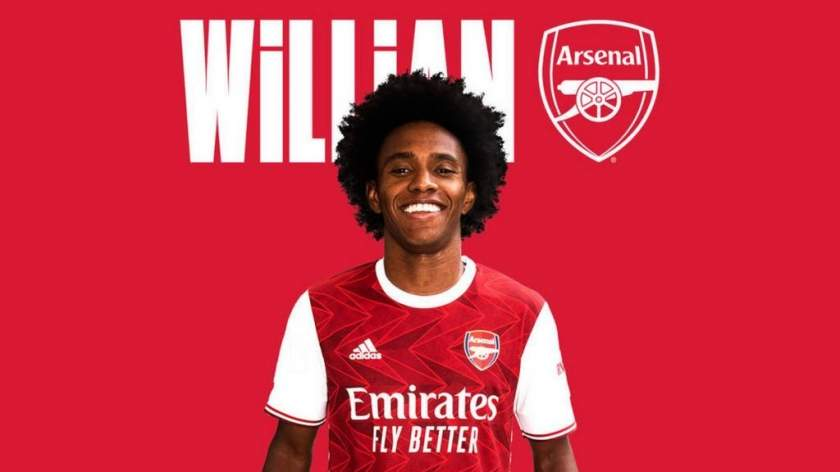 Willian reveals why he joined Arsenal from Chelsea