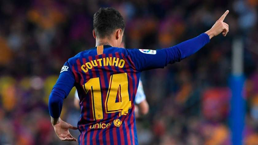 Coutinho gets new jersey number at Barcelona