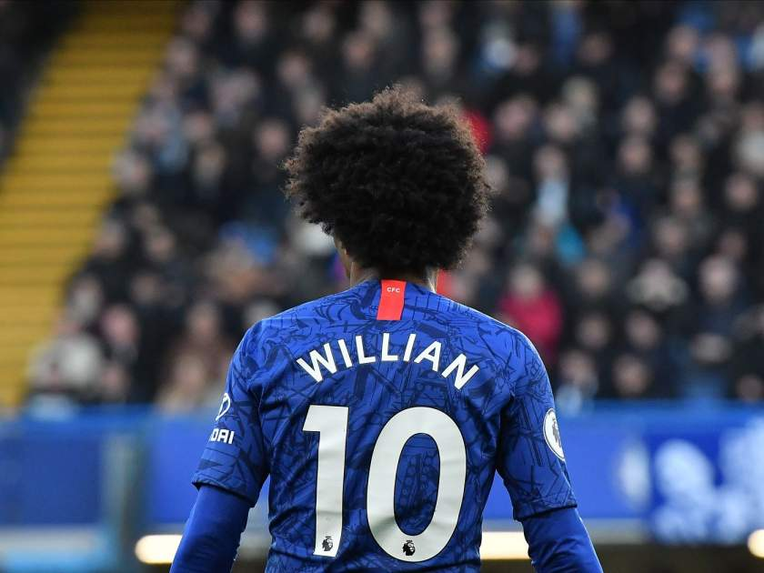 Chelsea to give Willian's No.10 shirt to Pulisic