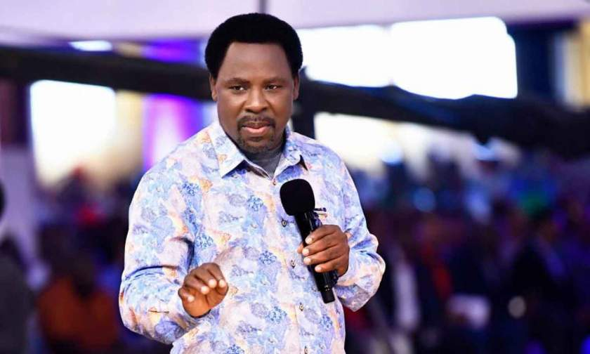 2021: What God showed me about COVID-19 - Prophet T.B Joshua