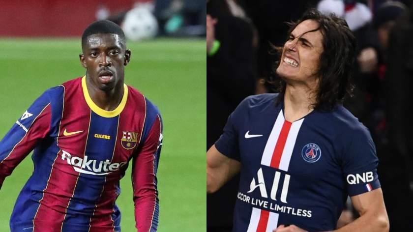 Man Utd to sign Cavani, Dembele as alternative to Jadon Sancho