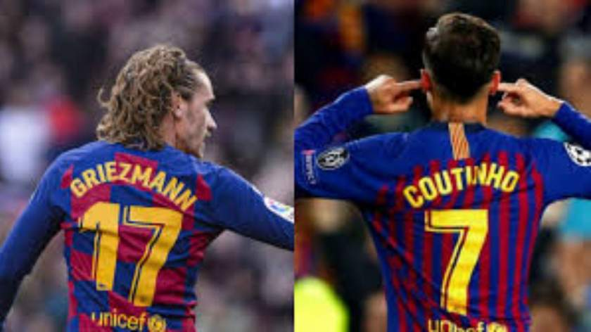 Griezmann, Coutinho to get pay cuts at Barcelona