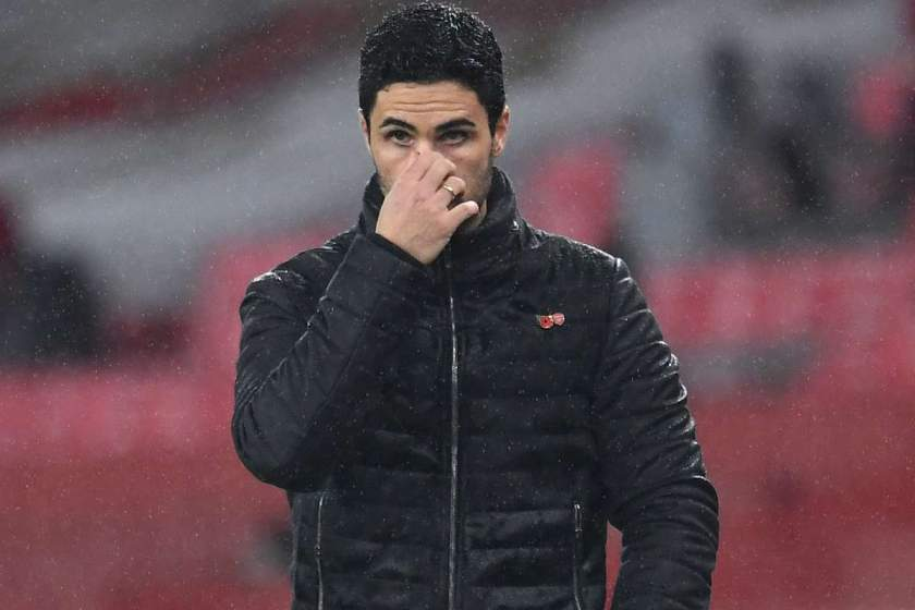 EPL: Arteta blasts Arsenal players after 3-0 defeat to Aston Villa, reveals who to blame