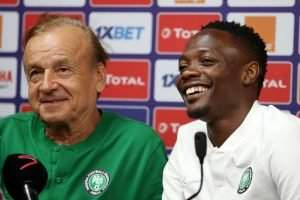 Rohr reacts as West Brom snub Ahmed Musa