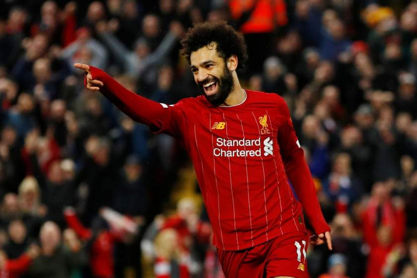EPL: Salah equals Cristiano Ronaldo's record as Liverpool hammer Wolves