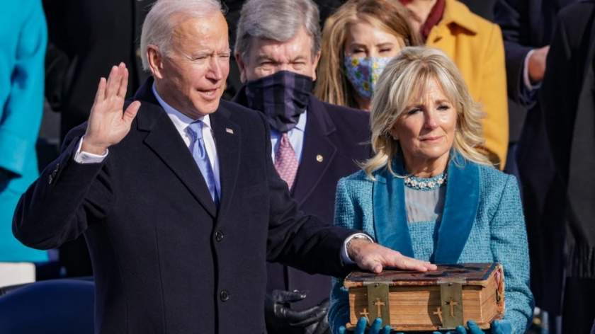 BREAKING: Joe Biden sworn in as 46th US President
