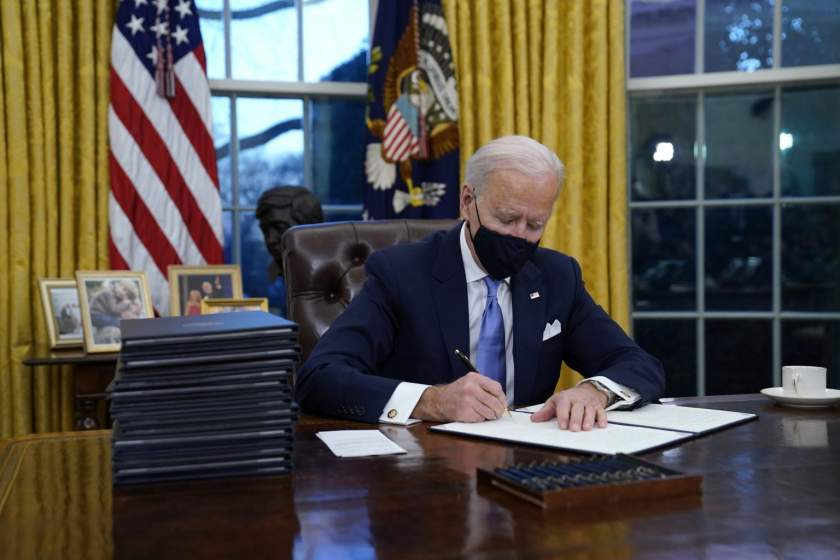 Biden reverses Trump ban on Nigeria, others