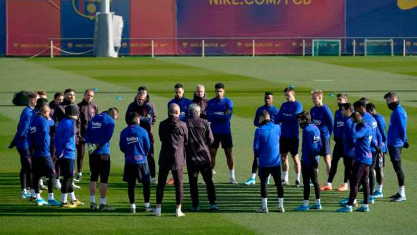 Champions League: Barcelona's squad to face PSG confirmed