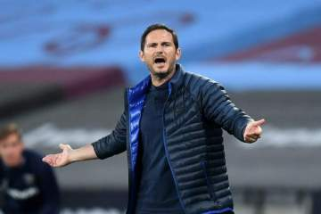 Lampard reacts to Chelsea's shortlist of managers to replace him