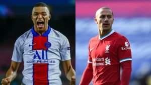 Champions League: Mbappe, Thiago make history as PSG, Liverpool defeats Barcelona, RB Leipzig