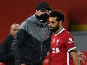 EPL: Klopp criticizes Salah, others after Liverpool's 1-0 win over Wolves