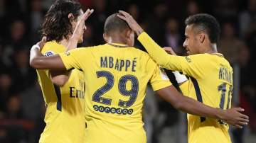 Mbappe nets debut strike as PSG thrash Metz