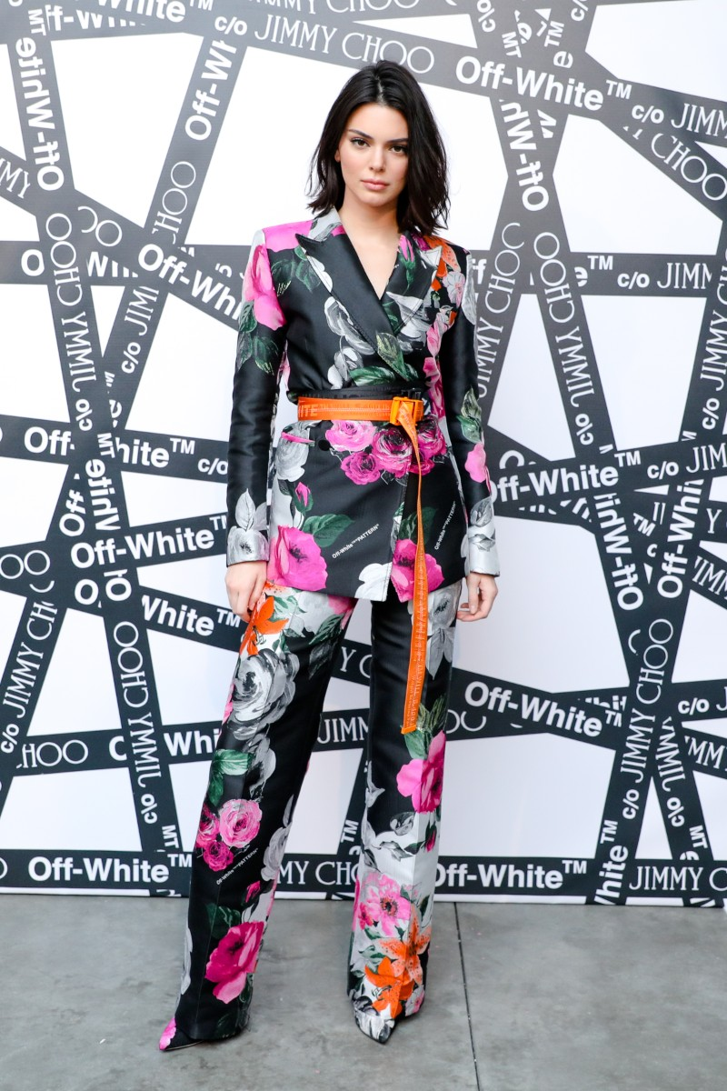 Kendall Jenner Off White. Photo Valiram Group