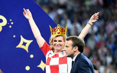 Kolinda Grabar-Kitarović: All Hail The Queen Of Hugs