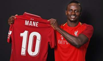 Sadio Mane to wear No. 10 jersey for new season