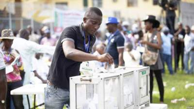 Conversation with a Nigerian vote seller