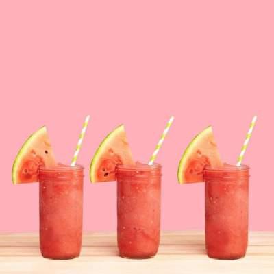 Treat Yourself To A Watermelon Slushie