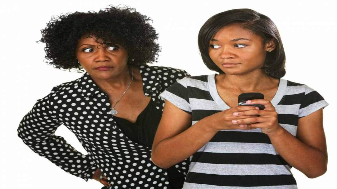 A Mother Monitoring Her Daughter Photo ThinkStock