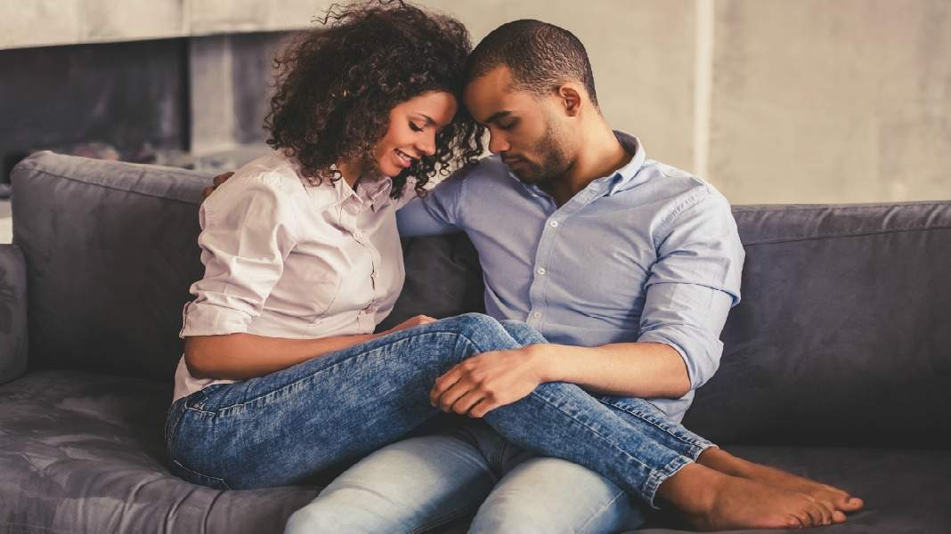 Bigstock Afro American Couple At Home1