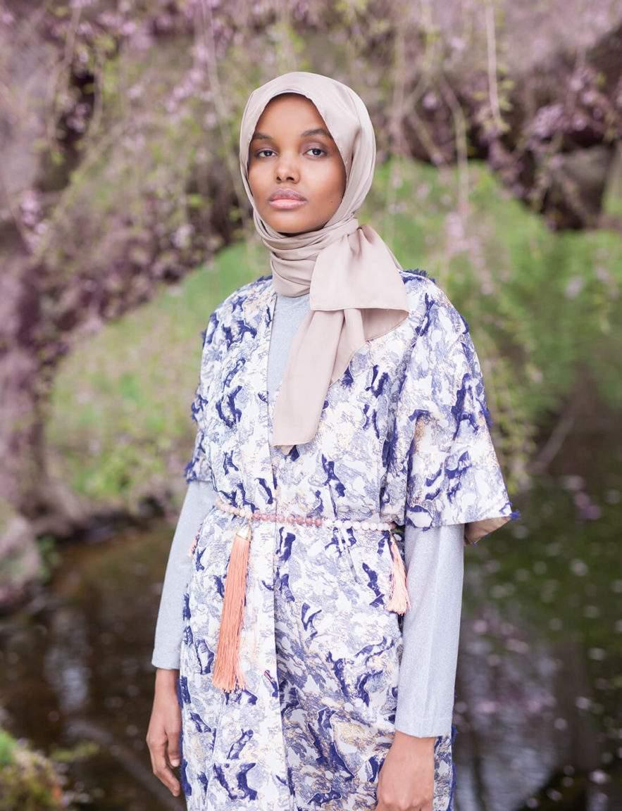 Halima Aden. Photo Sunafrik 2