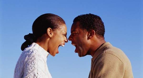 An Angry Black Man And Woman Photo Mile2 Herad