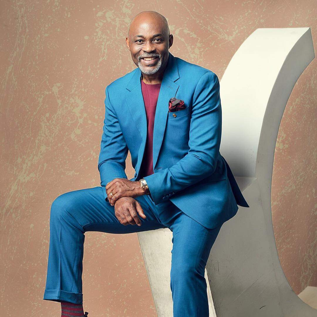 Richard Mofe Damijo In A Suit Photo Serious Mata