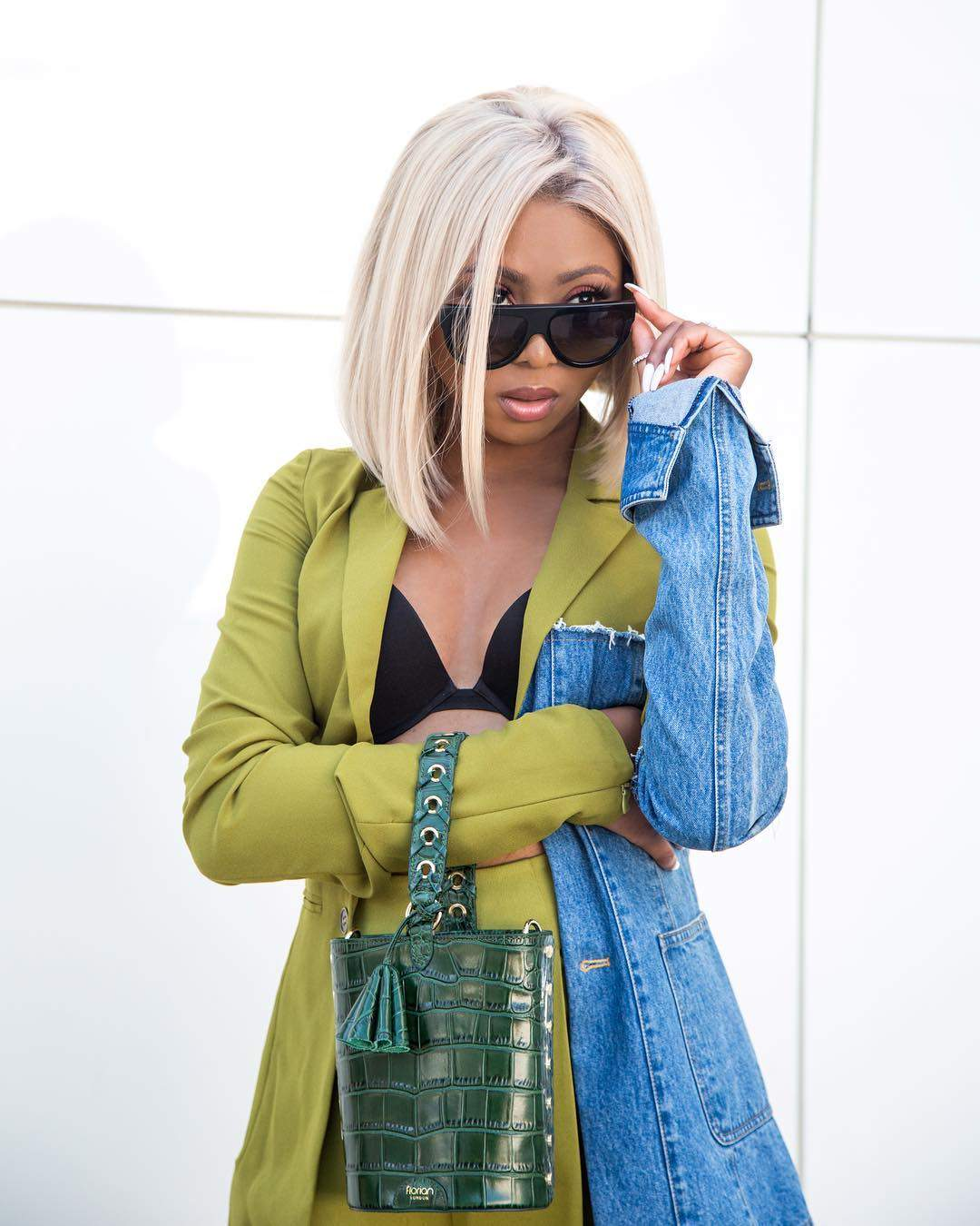 Stephanie Coker Wearing Shades Photo OnoBello