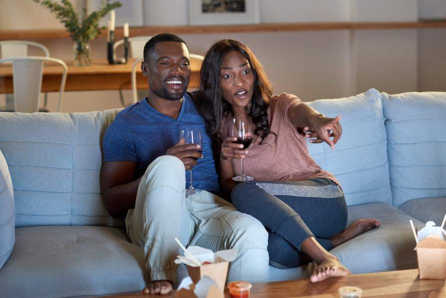 Couple Watching TV The Voice Of Black Cincinnati