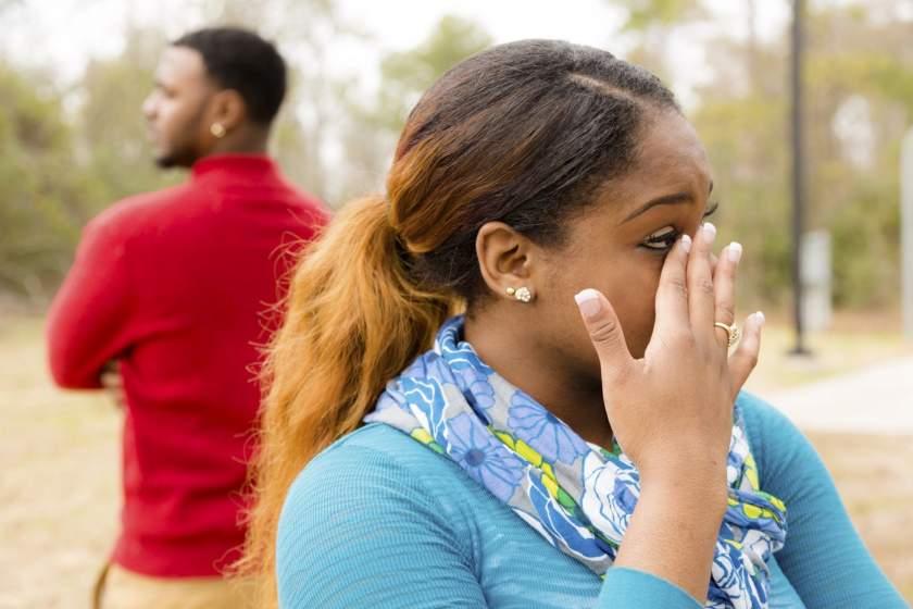 A Couple Breaks Up. Photo Shutterstock