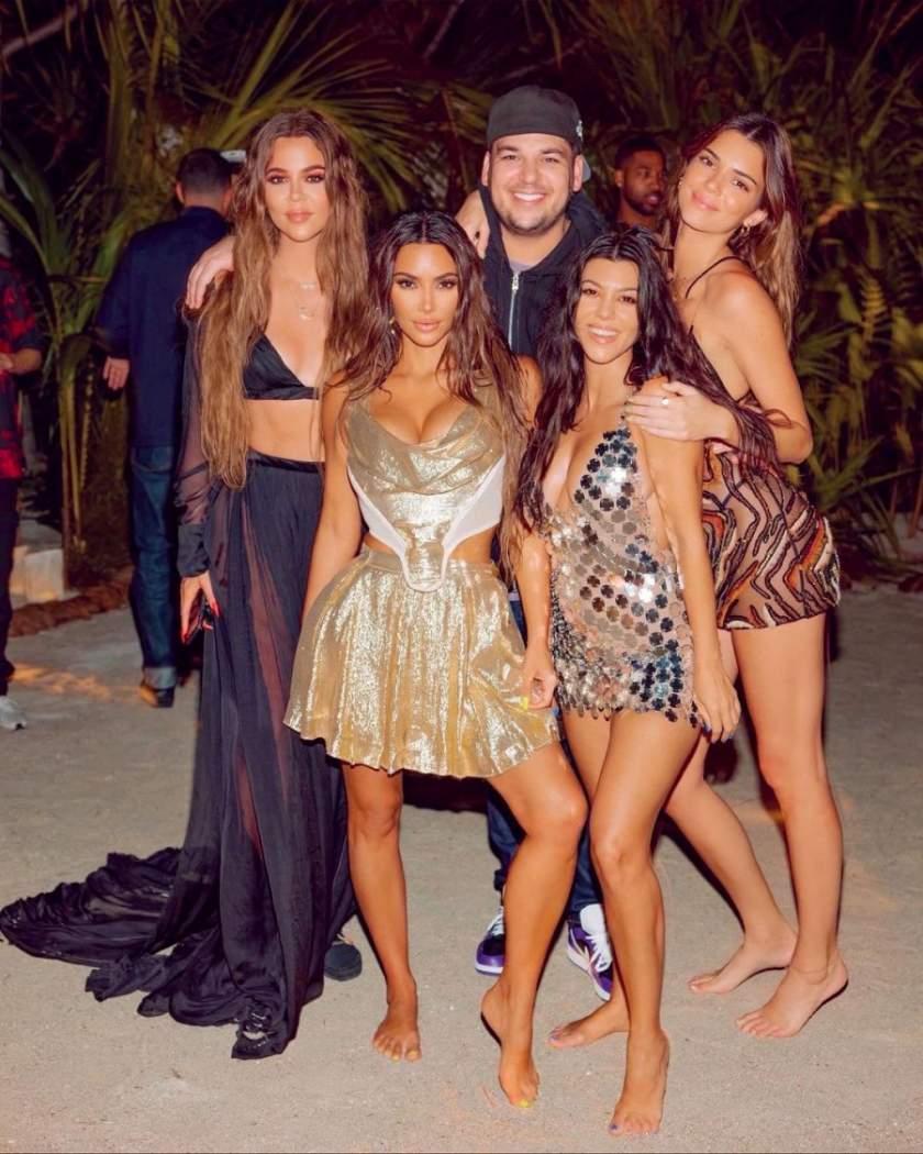 Kim Kardashian Instagram 40th Birthday Party Private Island 7