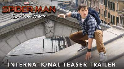 """Marvel Releases Trailer For """"Spider-Man: Far From Home"""""""