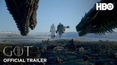 Watch The Official Trailer for 'Game of Thrones' Season 8